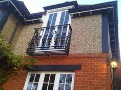 Juliet balcony ballustrade for upstairs bedroom