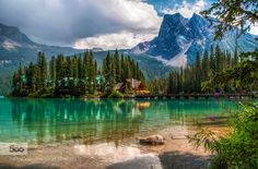 On Lake Louise by a2plug #nature