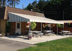Patio and Window Awnings - Jamestown Awning and Party Tents