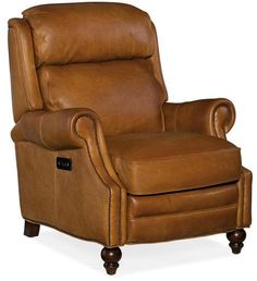 Shop a great selection of Hooker Furniture Fifer Leather Power Recliner Saddlebag Coin. Find new offer and Similar products for Hooker Furniture Fifer Leather Power Recliner Saddlebag Coin. Hooker Furniture, Furniture Upholstery, Living Room Furniture, Furniture Chairs, Furniture Styles, Leather Recliner Chair, Leather Sofa, Leather Chairs, Thing 1