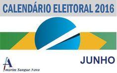 Curiosidades nas eleições 2016: Calendário Eleitoral – Junho