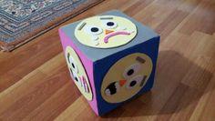 Duygu küpü Cube, Preschool, Album, Education, Diy, Bricolage, Kid Garden, Do It Yourself, Kindergarten