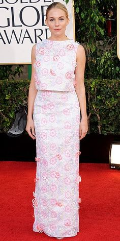 Golden Globe Awards 2013: Sienna Miller
