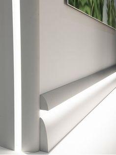 65 mm PVC Architrave-plastique plinthe//Trim-Diverses Couleurs//longueurs