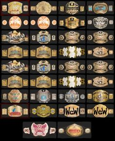 All the titles