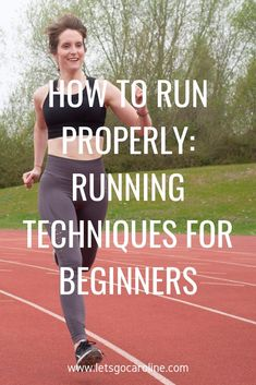 Running For Beginners Discover How to run properly: Running technique for beginners How to run properly - this is a question I often get asked by beginner runners who are looking to improve their running form and technique. Running Plan, Running Workouts, Running Tips, Running Training, Running Style, Treadmill Running, Trail Running, Running Humor, Running Quotes