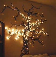 cute idea. and i love this tree thing in the mudroom or something simple.