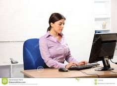 Photo about Beautiful young business woman concentrating hard working in an office typing on PC keyboard. Image of purple, mouse, girl - 17432953 Pc Keyboard, Technology Logo, Tv Videos, Apple Tv, Business Women, Stock Photos, Image, Innovation, Logos