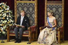 King Willem-Alexander and Queen Maxima at Prinsjesdag 2015