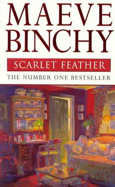 Scarlet Feather by Maeve Binchy. Set in contemporary Ireland, filled with warmth, wit, and drama, Scarlet Feather is the story of Cathy Scarlet and Tom Feather, their spouses, families, and friends, and the struggling new catering business that transforms their lives in ways big and small.