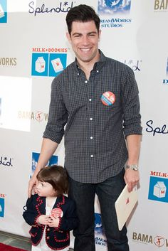 A Good Book: Max Greenfield brought his daughter to the Milk+Bookies Story Time Celebration at #Skirball Cultural Center on Sun Mar 10, 2013  http://celebhotspots.com/hotspot/?hotspotid=5566&next=1