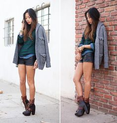 Pretending to be deep in thoughts.. (by Aimee Song) http://lookbook.nu/look/2658921-Pretending-to-be-deep-in-thoughts
