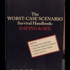 The worst case scenario - Dating – Joshua Piven 172 pages The worst case scenario – survival handbook: dating & sex. By Joshua Piven, David Borgenicht, & Jennifer Worwick, this handy guy includes expert instructions & illustrations & includes a handy appendix of body language, pick up lines & excuses. This book teaches you how not to get caught with your pants down. Very good condition. Like new. Other