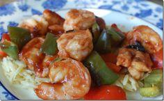 Barbeque Shrimp Skewers