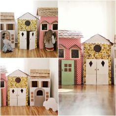 http://www.garotacriatividade.com/brinquedos-de-papelao/  #creative #criativo…