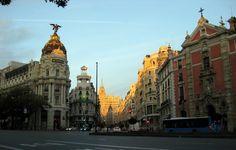 Amanece en Aparcamiento Lavacolla Madrid.