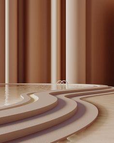 INTERIOR COLOR TRENDS 2020 : Brown caramel interiors and design - Discover more design inspiration on www. Color Inspiration, Interior Inspiration, Deco Cafe, Architecture Design, Minimalist Architecture, Color Trends, Design Trends, Colorful Interiors, House Design