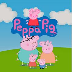 Peppa Pig 55 clipart CDR images, vector graphics free mail instant download