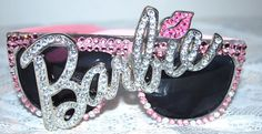 Cute lovers Sunglasses for Outdoor, - Barbie Rhinestone Sunglasses Barbie Life, Barbie World, Barbie Barbie, Barbie Shoes, Barbie Style, Cute Jewelry, Jewelry Accessories, Glitter, Everything Pink
