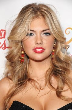 Amazing soft waves on Kate Upton