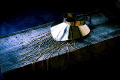 Big Brass custom jewelry collar by Bisjoux Karin Hanssen