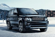 Range Rover Sport Supercharged! Black on black:) Another purchase I will need to wait until after grad school for. Darn!