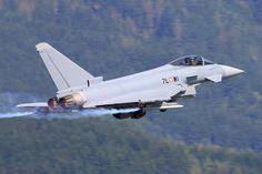 - Austria - Air Force Eurofighter Typhoon S photo views) Military Jets, Military Aircraft, Air Fighter, Fighter Jets, Photo Online, Austria, Air Force, Cool Photos, Airplanes