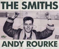 Andy Rourke, bassist for The Smiths
