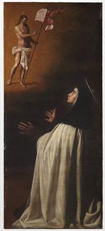 Alonso Cano: Aparición de Cristo resucitado a santa Teresa de Jesús (1629). Museo Nacional del Prado.
