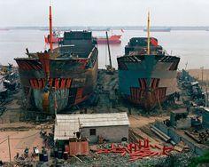 Edward Burtynsky, Shipyard #2