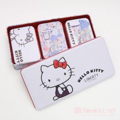 itoyoshi's Gotochi Kitty collection NO.1706 United Kingdom of Great Britain and Northern Ireland /London Limited  Liberty London Hello Kitty...