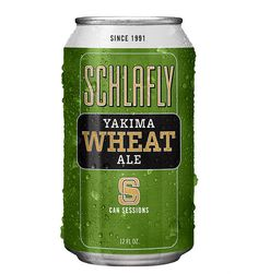 Schlafly Beer Yakima Wheat Session Can