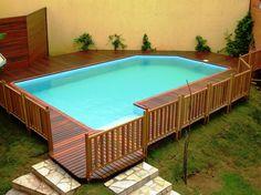 piscina de vinil passo a passo - Pesquisa Google