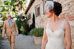 Melany & David's small handmade garden party wedding | Offbeat Bride