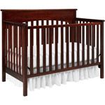 Graco - Lauren 4-in-1 Convertible Fixed Side Crib and Mattress Value Bundle, Your Choice of Finish