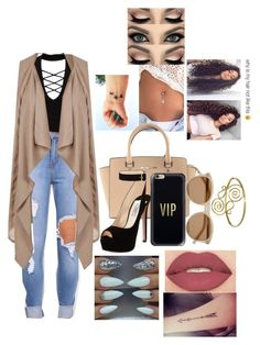 """""""Untitled #75"""" by fashionlover397 on Polyvore featuring Miss Selfridge, Topshop, Michael Kors, Prada, Casetify, Smashbox and Yves Saint Laurent"""
