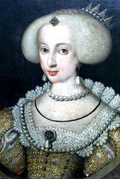 Queen Kristina of Sweden, Queen Regnant. 1632-1654   She succeeded her father Gustav II Adolf at the age of six