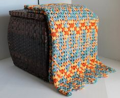 Afghan  Granny Ripple  Sunshine Ombre by SnugableTouches on Etsy, $55.00