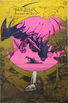 Mossery: A Mind Blown is a Mind Shown - 60s Psychedelic Posters