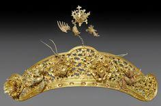 Bộ trang sức của một vương phi thời chúa Nguyễn | Nghệ Thuật Xưa