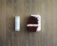 Red Velvet Lip Balm - Shea Butter, Beeswax, Cocoa Butter #redvelvet #lipbalm #cake