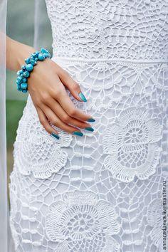 . Crochet Skirts, Crochet Blouse, Knit Or Crochet, Irish Crochet, Crochet Clothes, Crochet Wedding Dresses, Something Blue Wedding, Irish Lace, Clothing Items