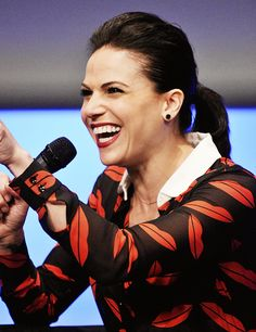 Lana Parrilla at Fairy Tales II, Paris June 21st