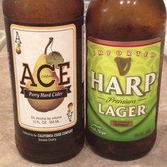 Best beer blend EVER! It's called a Snake bite. Mix half Harp and half pear cider. Sooo good!