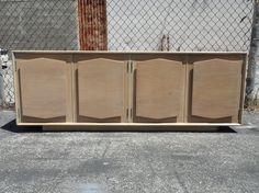 60's Mod Media Cabinet Credenza Storage Blonde Los Angeles by housecandyla, $350.00