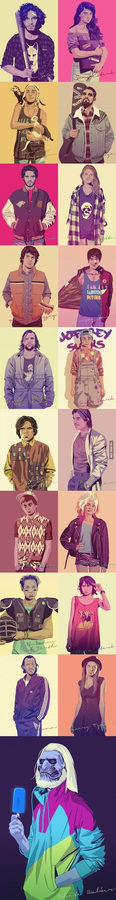 Game Of Thrones, Hipster Style. The best.