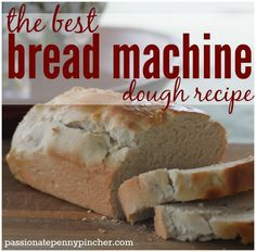 This is the best bread machine dough recipe you'll ever eat! White Bread Machine Recipes, Bread Maker Recipes, Best Bread Machine, Sugar Free Bread Machine Recipe, Bread Bun, No Yeast Bread, Sugar Bread, Easy Bread, Bread Baking