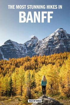The 17 best Banff hikes with first hand descriptions, photos and guides! - The 17 best Banff hikes with first hand descriptions, photos and guides! Banff, Quebec, Rocky Mountains, Hiking Guide, Hiking Routes, Toronto, Montreal, Backpacking Canada, Trekking