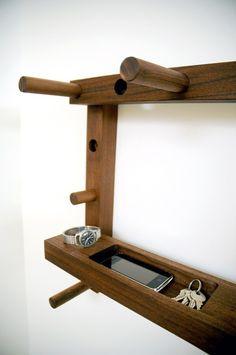 Functional And Versatile Hallway Coat Rack