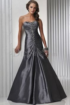 GREY WEDDING DRESSES » Prom Dresses